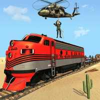 Mission Counter Attack Train Robbery Shooting Game on 9Apps
