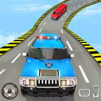 US Police Limo Ramp Car Stunts: Police Car Games on 9Apps