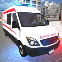 Simulador de emergencia de ambulancia real 2021 on 9Apps