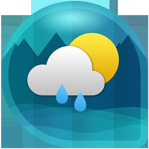 Hava ve saat Widget için Android (Hava durumu) icon