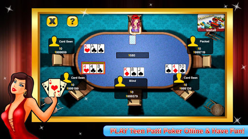 Teen Patti poker screenshot 2