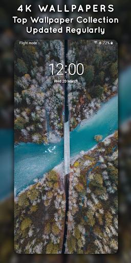 4K Wallpapers - Auto Wallpaper Changer screenshot 1