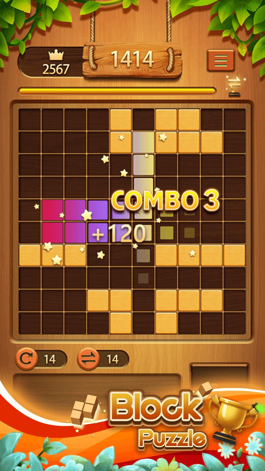 Classic Block Puzzle——Wood Block Puzzle Game screenshot 2