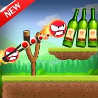 Knock Down Bottles 321 :Ball Hit Cans & Shoot Down on APKTom