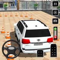 Prado parking Modern Car Parking: car games 2021 on APKTom