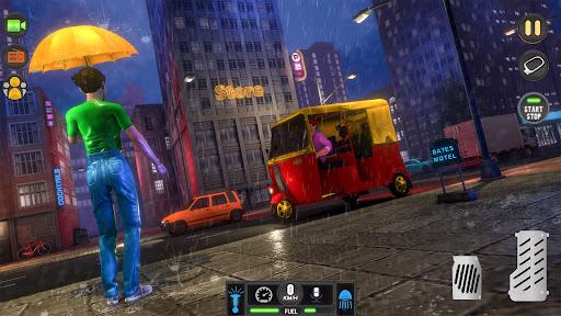 Tuk Tuk Auto Rickshaw Driving Simulator Games screenshot 3