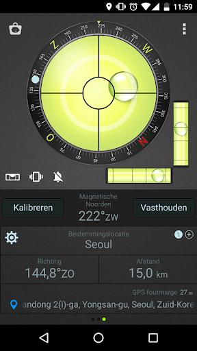 Waterpas Kompas & GPS screenshot 5
