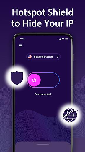 Share Vpn-Faster&Safer, Unlimited Free vpn screenshot 1