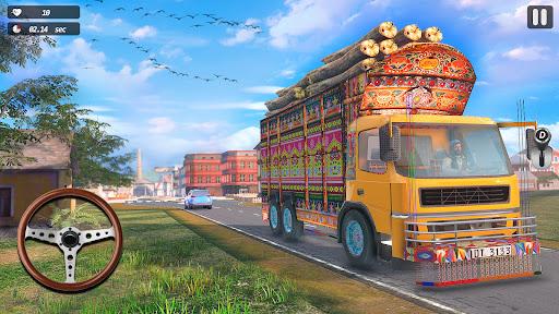 インド人 リアル トラック ドライブ シム screenshot 4