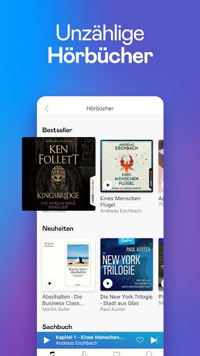 Deezer: Musik, Podcasts und Hörbücher hören screenshot 3