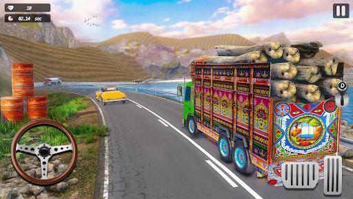 インド人 リアル トラック ドライブ シム screenshot 1