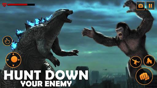 Monster Gorilla Attack-Godzilla Vs King Kong Games screenshot 3