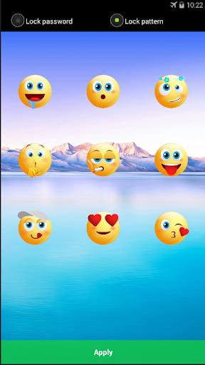Screen Locker - Applock Emoji Lock Screen App screenshot 1