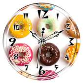 Donut Clock Live Wallpaper on APKTom