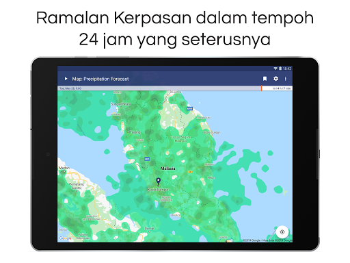 Clime: Radar Cuaca dan Ramalan screenshot 14
