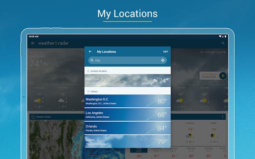 Weather & Radar - Storm radar screenshot 16
