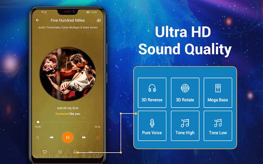 Reproductor de música -  MP3 y ecualizador de 10 screenshot 14