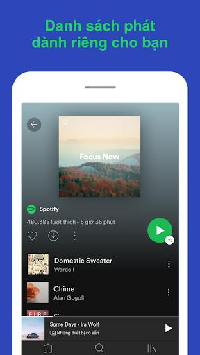 Spotify: Nhạc và podcast screenshot 5