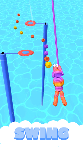 Rope-Man Run screenshot 3