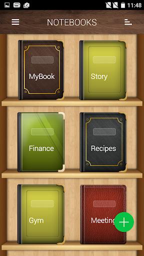 Notebooks screenshot 2