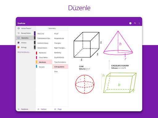 Microsoft OneNote: Fikir Kaydetme ve Not Düzenleme screenshot 7