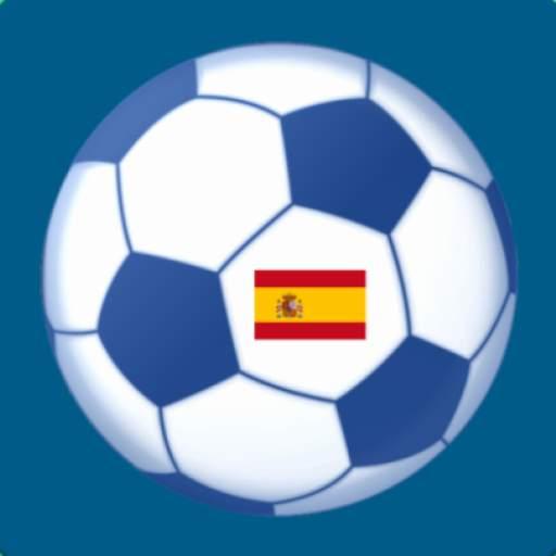 Football livescore from the Spanish La Liga