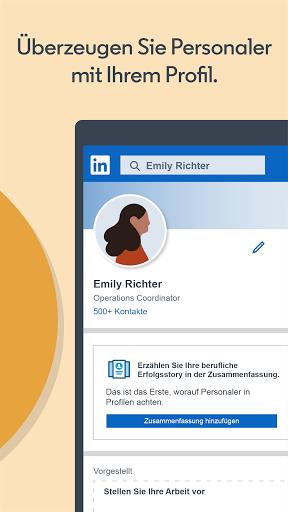 LinkedIn: Job Suche, Business Netzwerken screenshot 5