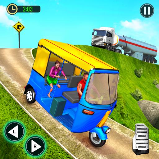Tuk Tuk Auto Rickshaw Offroad Driving Games 2020 icon
