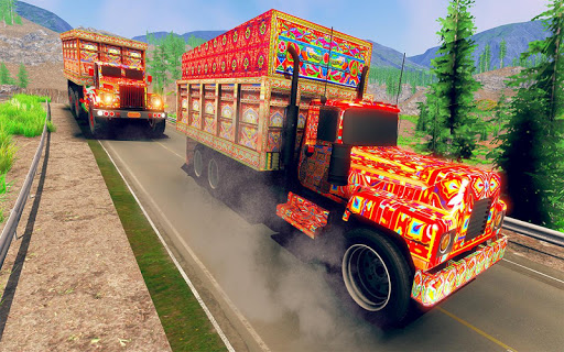Asian Truck Sim 2020: juegos de conducción screenshot 11