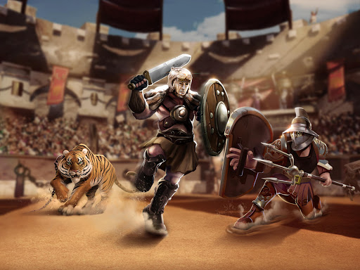 Gladiator Heroes - Fighting and strategy game screenshot 12