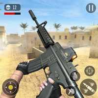 FPS ゲーム オンライン - 戦争での秘密 コマンド on 9Apps
