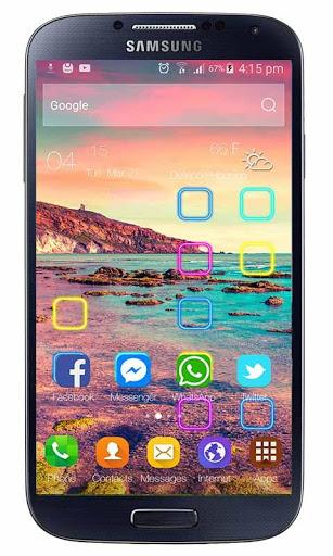Launcher Oppo F1s Selfie Theme screenshot 1