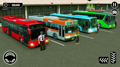Bus Spiele 2021 Fahrspiel Mega Bus durch die Stadt screenshot 5