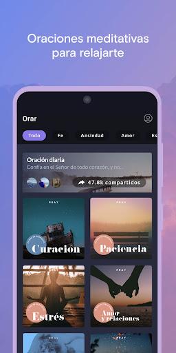 Pray.com: Oración, Dormir, Biblia, Meditación screenshot 7