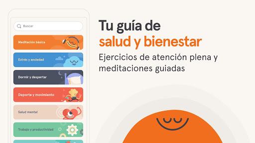 Headspace: Meditación y Sueño screenshot 1