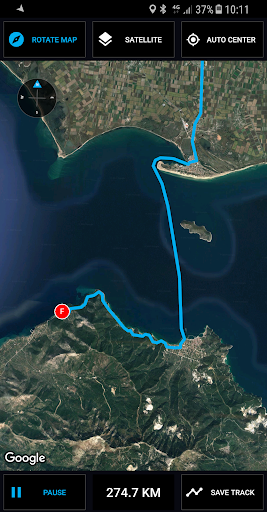 GPS Compass Navigator screenshot 5