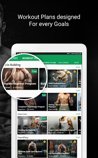 Fitvate - Home & Gym Workout Trainer Fitness Plans screenshot 18