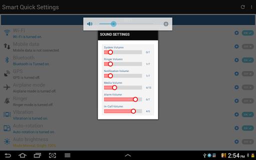 Configuración rápida screenshot 22