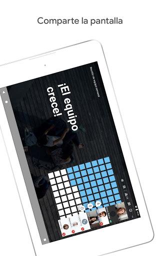 Google Meet screenshot 8