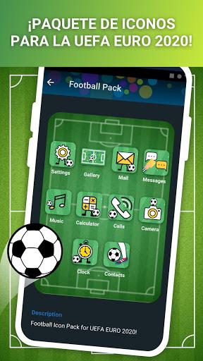 Lanzador con Iconos en Vivo para Android screenshot 2