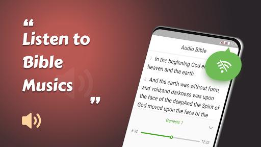 King James Bible (KJV) - Free Bible Verses   Audio скриншот 14
