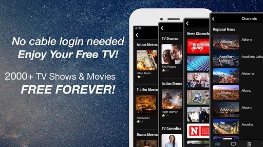 (US only) Free TV App: TV Series screenshot 1