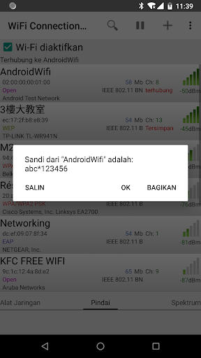 WiFi Connection Manager screenshot 3