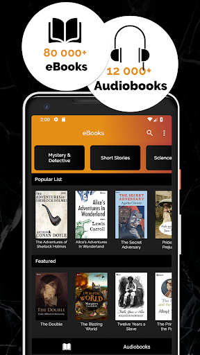 Free Books & Audiobooks screenshot 1