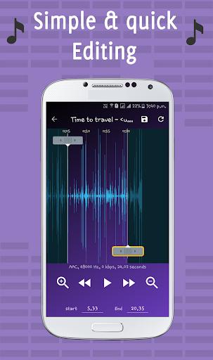 Ringtone Maker & Mp3 Cutter screenshot 2