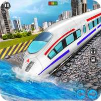 Underwater City Train Games on 9Apps