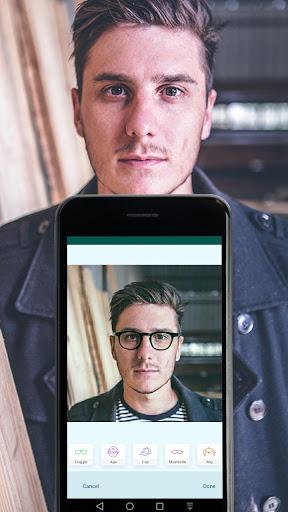 Old Age Face effects App: Face Changer Gender Swap screenshot 7