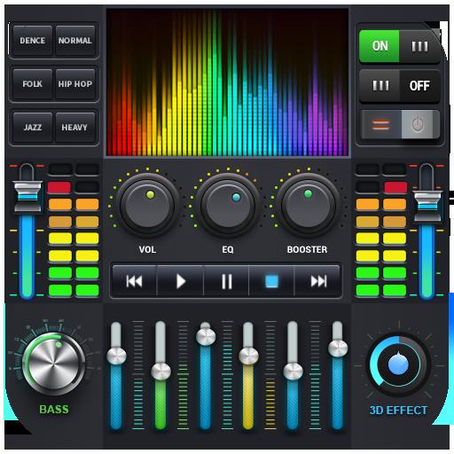 Reproductor de música -  MP3 y ecualizador de 10 icon