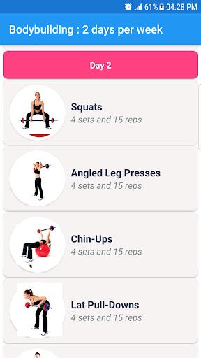 Fitness & Bodybuilding screenshot 4