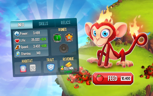 Monster Legends: Breed, Collect and Battle स्क्रीनशॉट 7